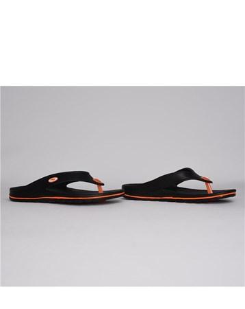 Eva Kadın Erkek Parmak Arası Boyalı Siyah Sandalet Terlik 685 Sonimix