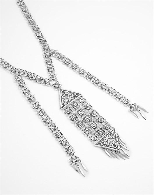 Mizu Gümüş Kolye B016