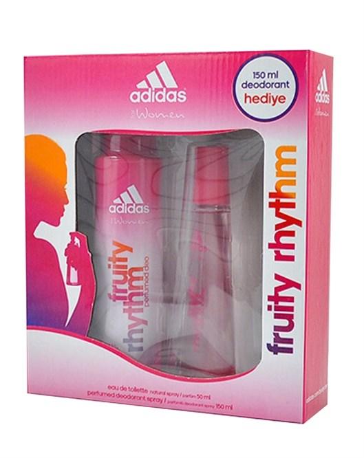 Adidas Fruity Rhythm 50Ml Edt Bayan Parfüm Set